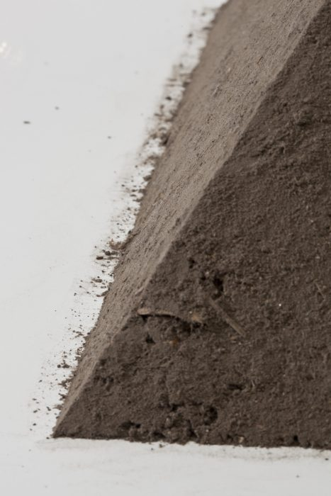 Pyramid of Dust, 2011Detail