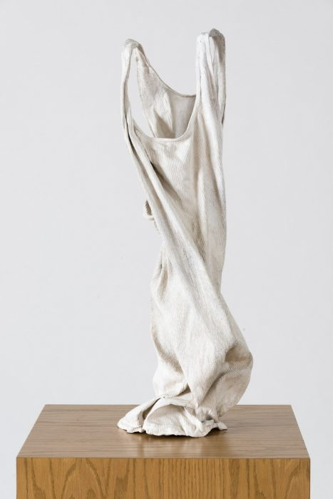 Wifebeater, 2012 Cast bronze 27 x 10 x 9 inches