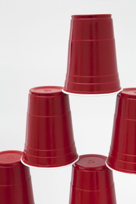 Party Cup Pyramid, 2014 Detail