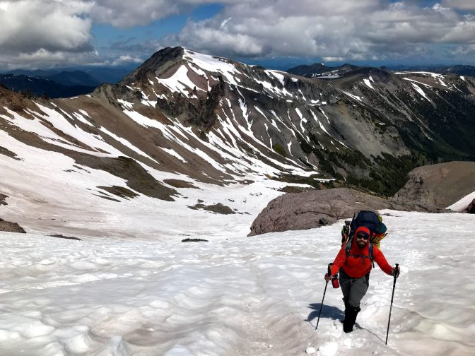 Coming up the interglacier. pc: Mary Swift