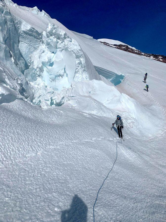 On the descent. pc: Anna Hurst