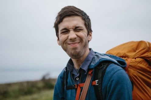 Matt's funny face