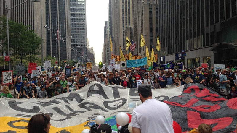 Reflecting on the People's Climate March