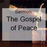 gospel of peace icon