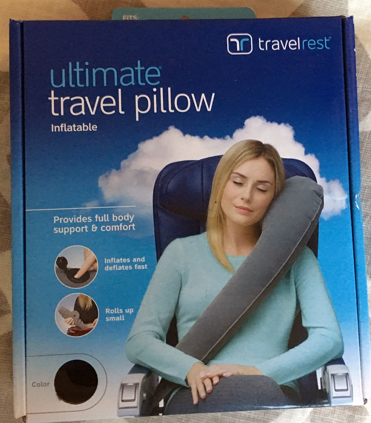 travelrest ultimate inflatable travel