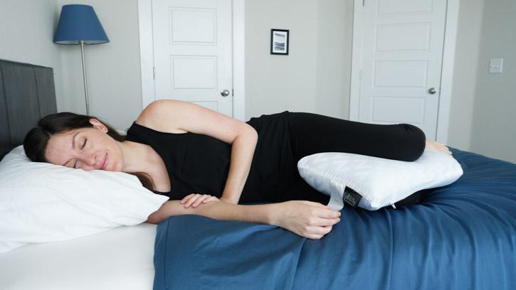 malouf l shape memory foam body pillow