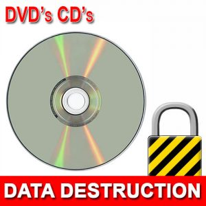 DVD or CD Data Destruction