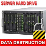 Sever Hard Drive Data Destruction