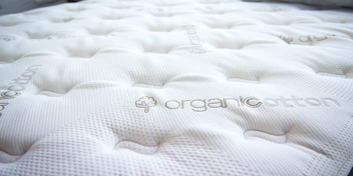 custom 2 brookside memory foam topper w organic cotton