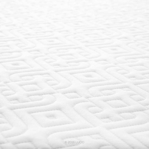 Lucid 10-Inch Gel Memory Foam Dual-Layered
