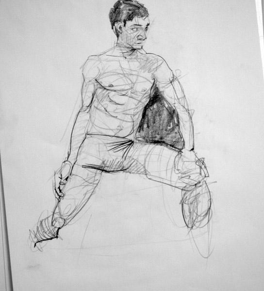 Life Drawing: Week 21 – Poses with movement – Matt Richards Illustration
