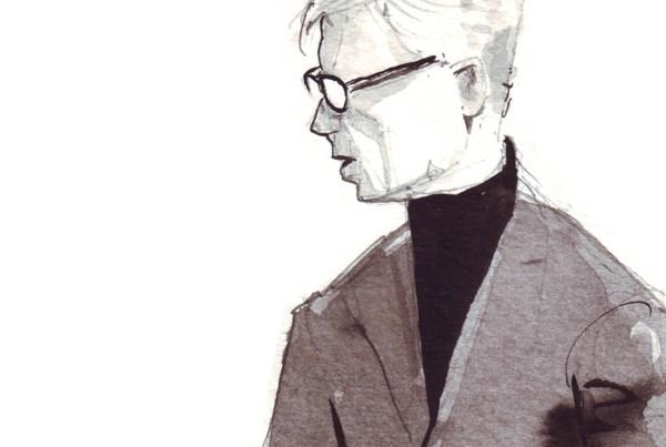 video still of ink fashion illustration