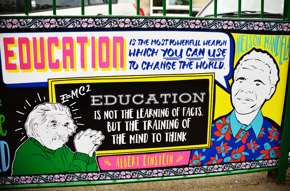 Education On the Move, Stoneydown Park Primary School mural