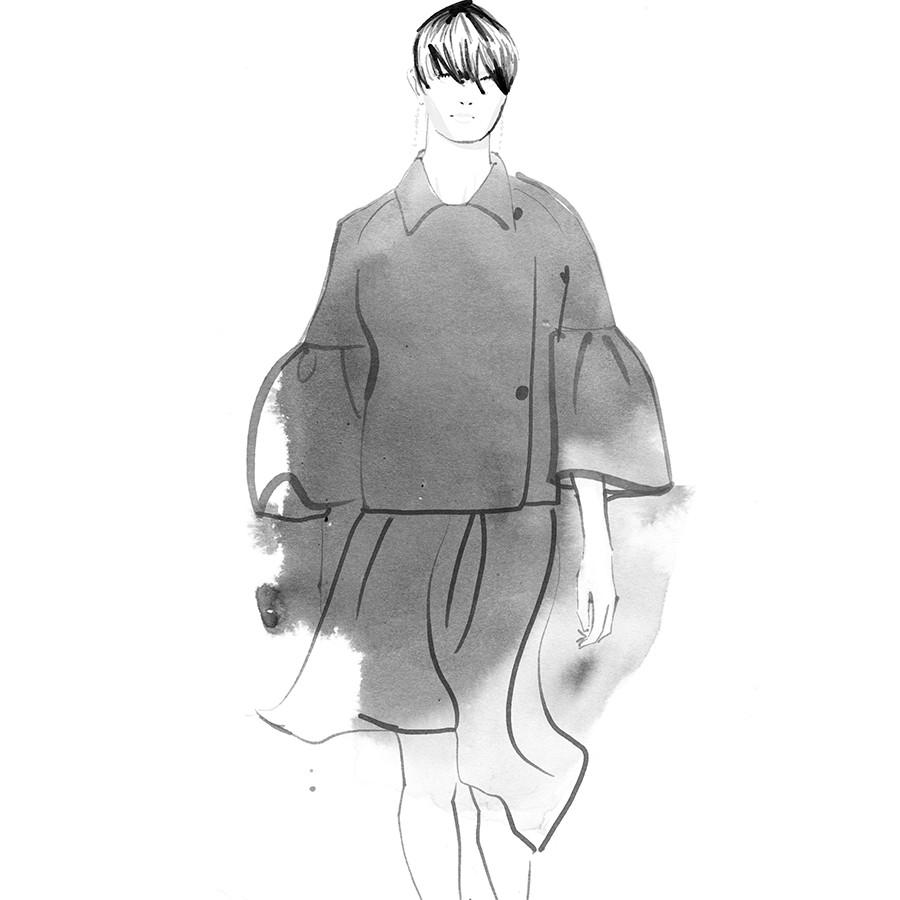 Inktober Fashion Illustrations 2017 day 4