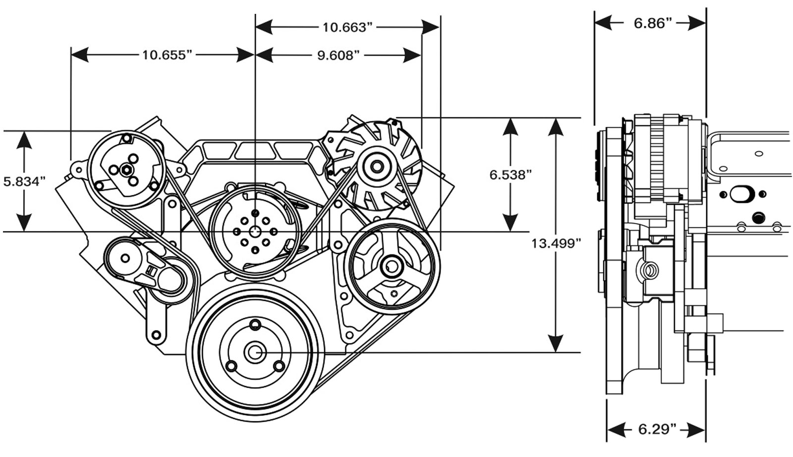 396 Big Block Chevy Diagram