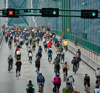 Lions Gate cycling