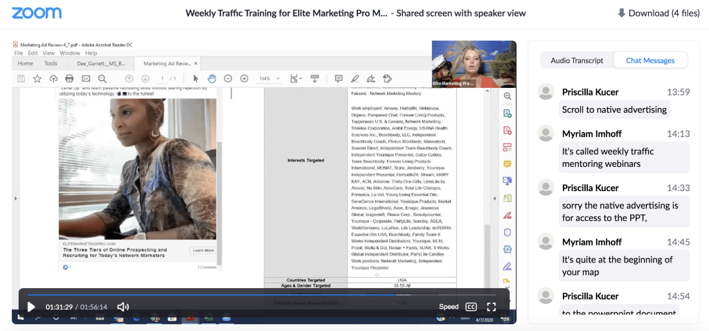 Elite Marketing Pro Weekly Traffic Training