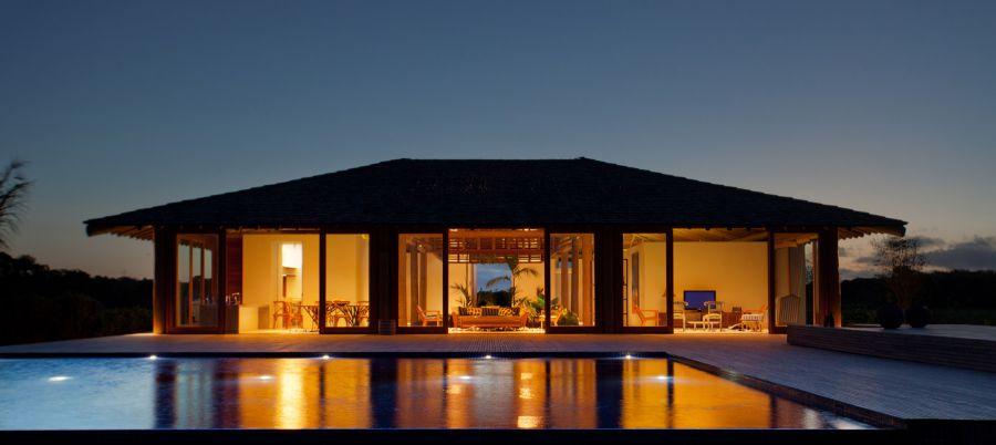 Capa aluguel de casas de luxo Villa12 em Trancoso Bahia