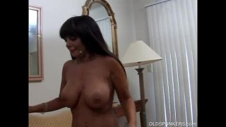 Beautiful big tits MILF Cassidy loves anal sex