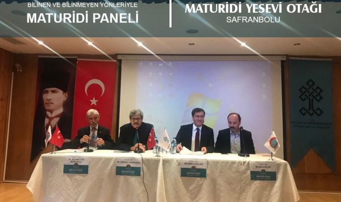 Maturidi Paneli Safranbolu'da Yapıldı