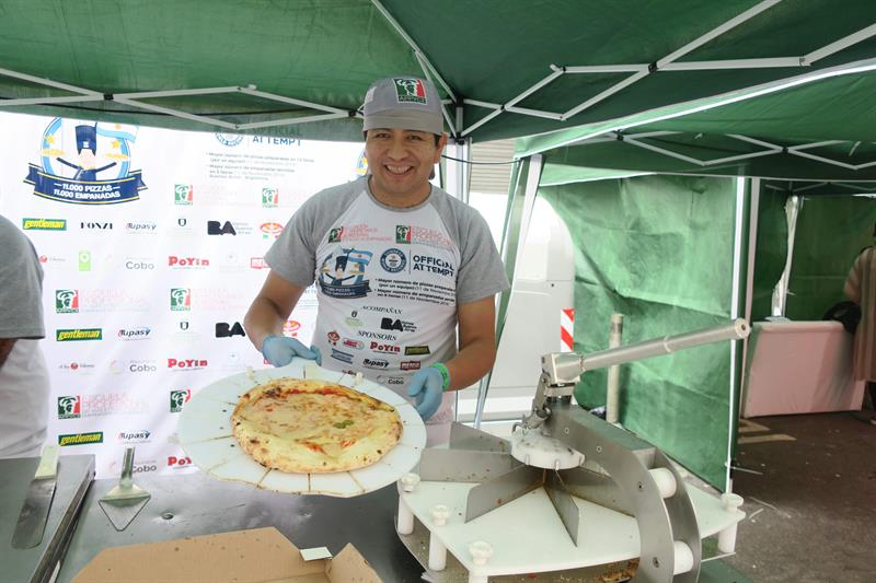 argentina pizzas record guinness buenos aires competencia