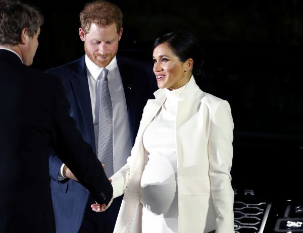 Foto: El príncipe Harry y Meghan Markle, duquesa de Sussex, 3 de marzo 2019