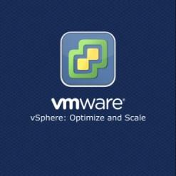 VMware vSphere Optimize and Scale