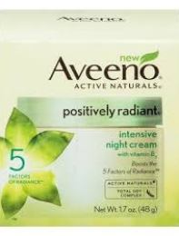 Aveeno Positively Radiant Intensive Night Cream With Vitamin B3 ? 1.7oz