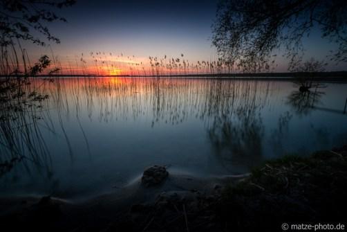 Arendseee Sonnenuntergang