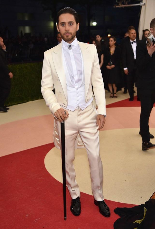 Jared Leto veste Gucci