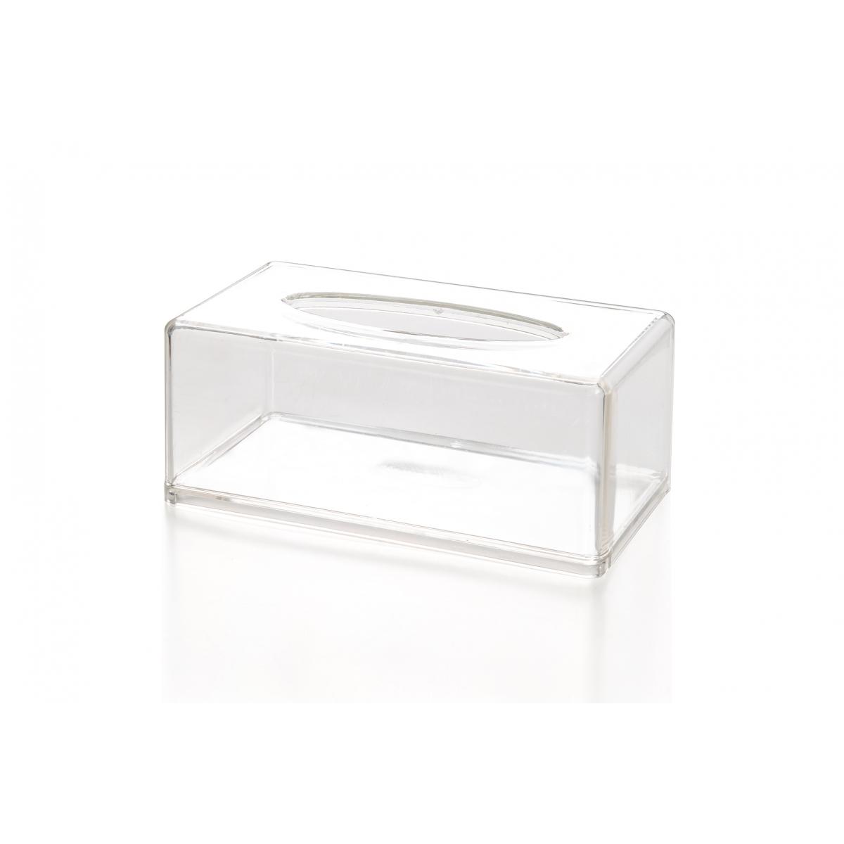 Boite De Rangement Mouchoirs Kleenex En Acrylique Transparent Maquillage Permanent