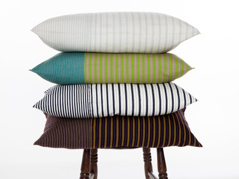 Abuela striped cushions - Chiapas collection