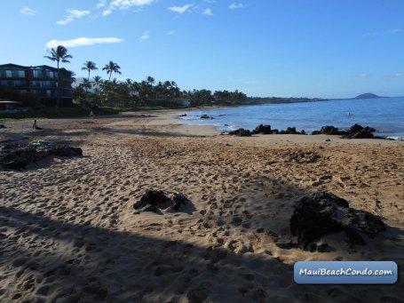 Beach view to Makena