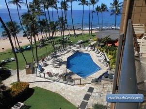 Lanai View to Pool