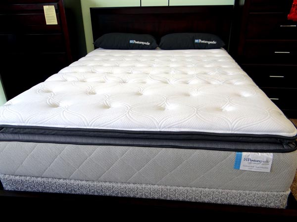 Sealy Posturepedic Anniversary Edition Cushion Firm Euro Pillow Top