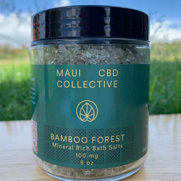 Buy CBD bath salts in Hawaii from MauiCBD.com