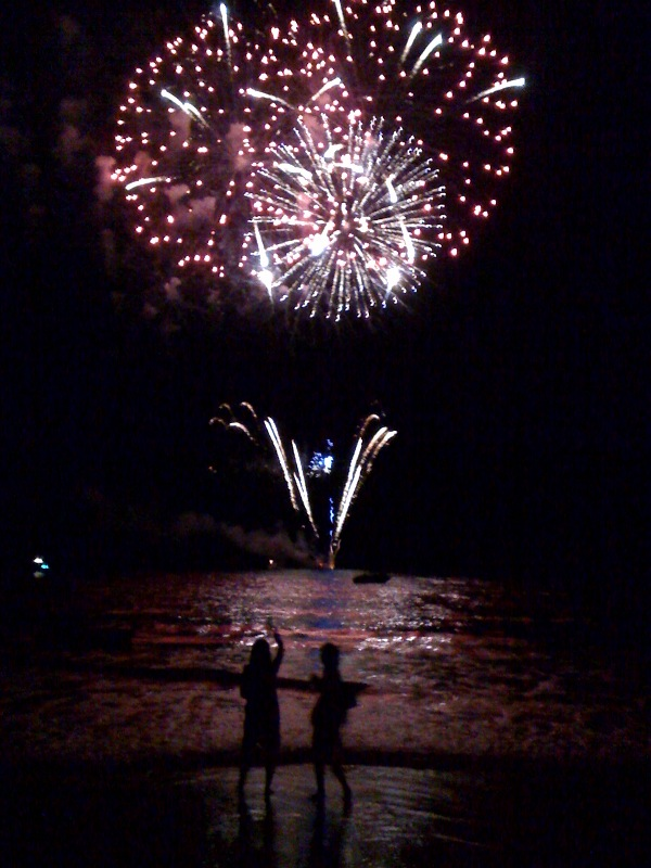 Fourth of July in Maui