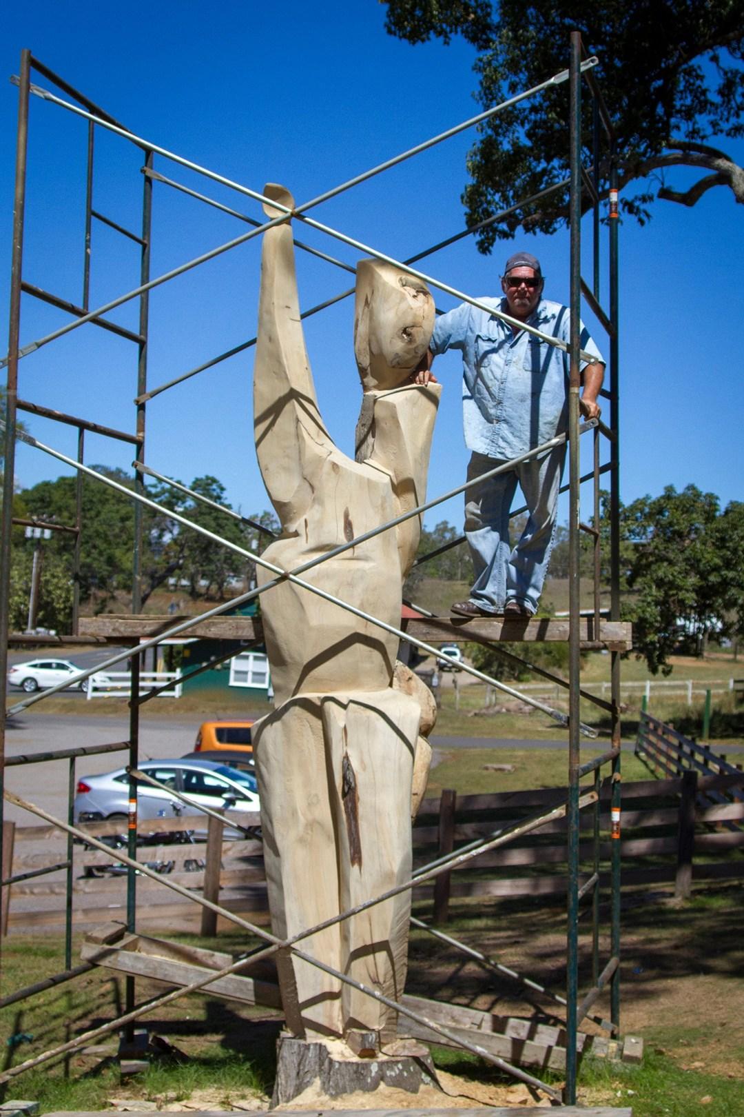 Building the Hula Circle Trees by Tim Garcia