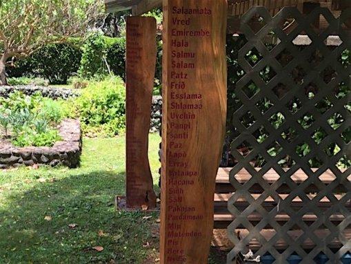 Peace Poles – Montessori School of Maui