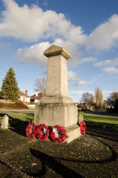 Maulden Village 2014-memorial