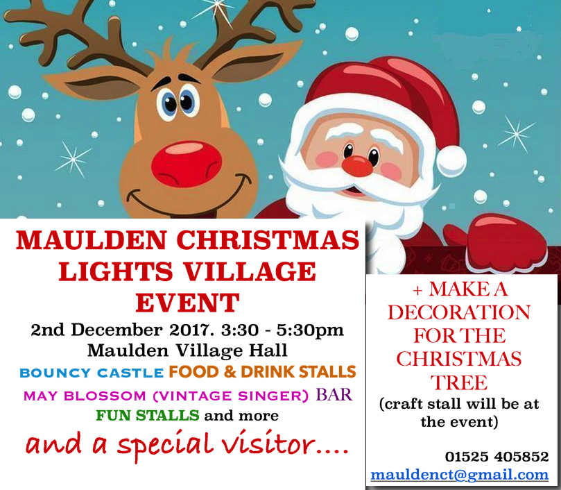Maulden Christmas Lights Village Event 2017