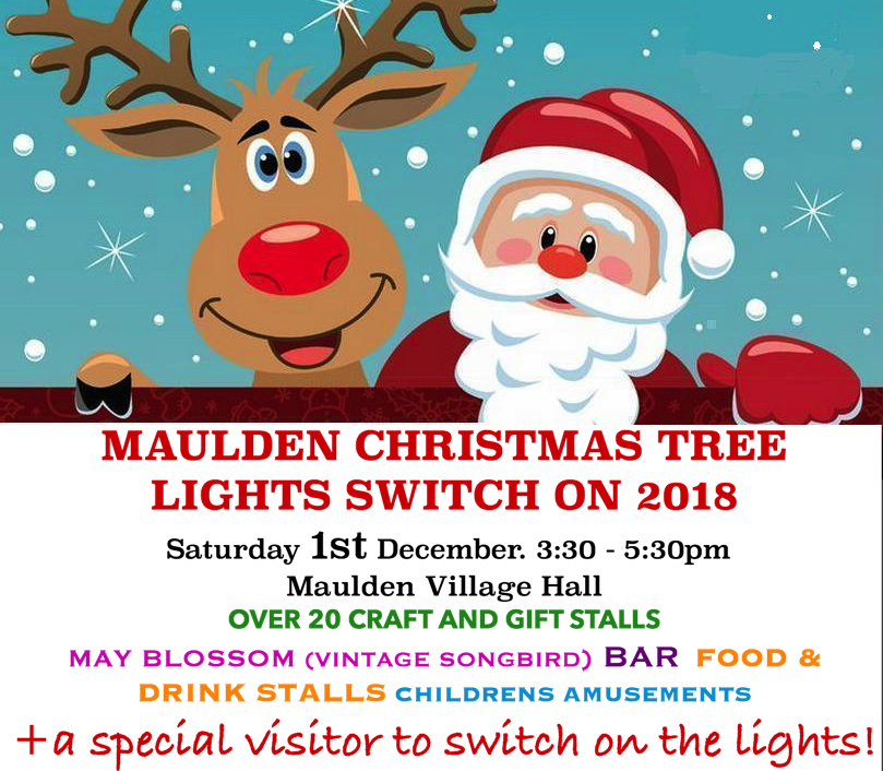 Maulden Christmas Tree Lights Switch On - Sat 1st December