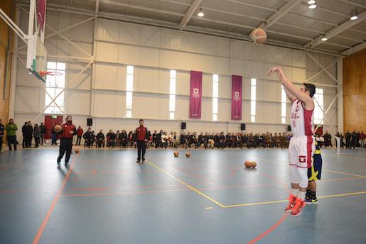 UTalca inauguró moderno gimnasio