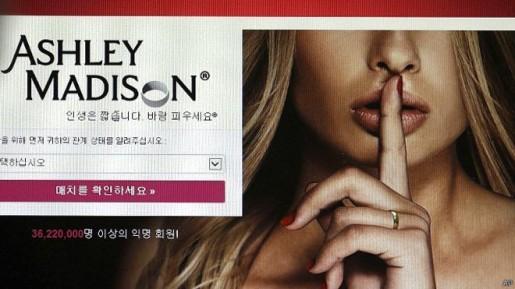 Hackers revelan información del sitio de infieles más popular de la red