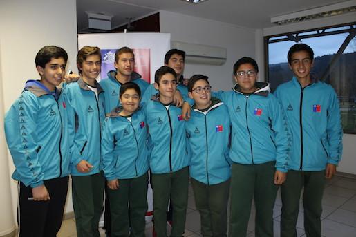 Escolares maulinos en el ciclismo, ajedrez y voleibol con las maletas listas para competir en  Arica