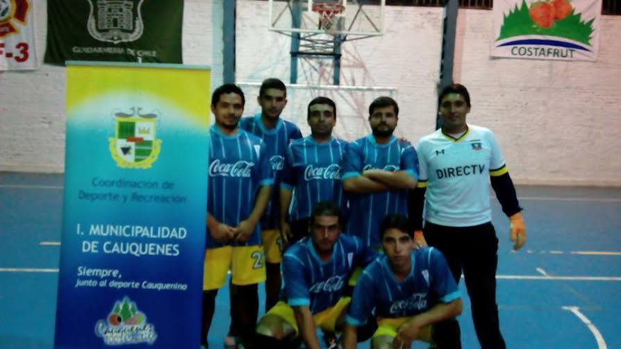 Liga Laboral Municipio Cauquenes: Aperradas en damas y CGE Distribución en varones lideran el torneo