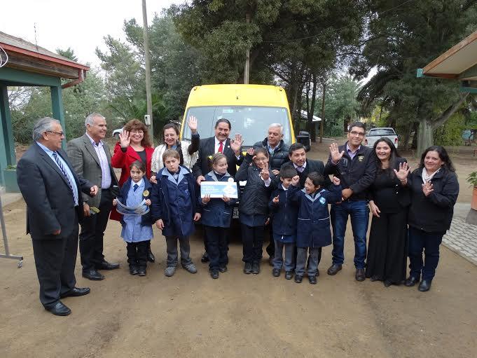 Transporte Escolar Subsidiado beneficia a más de 7 mil niños en el Maule
