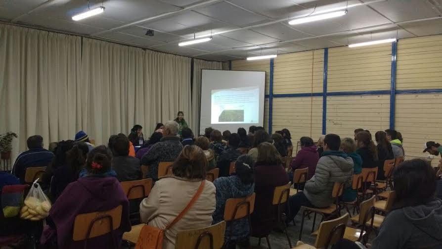Gran concurrencia a charla de cannabis medicinal en Colbún