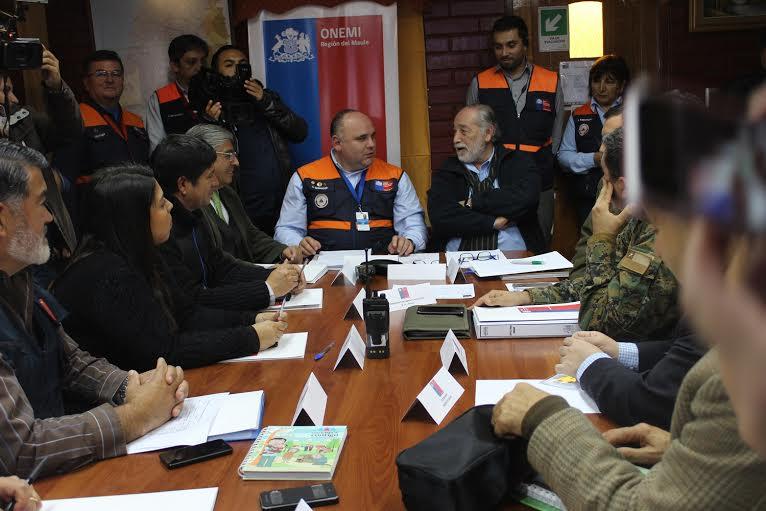 Exitosa reunión de COE Regional por simulacro de terremoto y tsunami