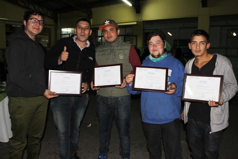 Masiva certificación Sence a alumnos +Capaz de Rauco y Curicó